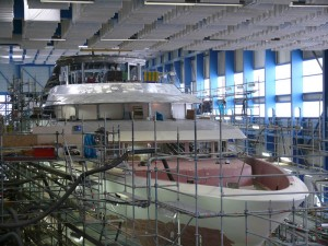 YACHT Under Construction